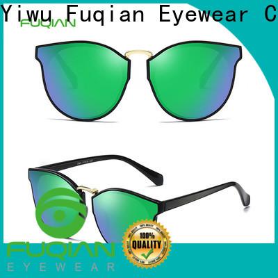 Fuqian womens pink polarized sunglasses factory for sport