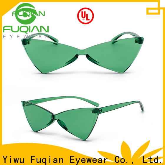 Fuqian womens large aviator sunglasses factory for racing