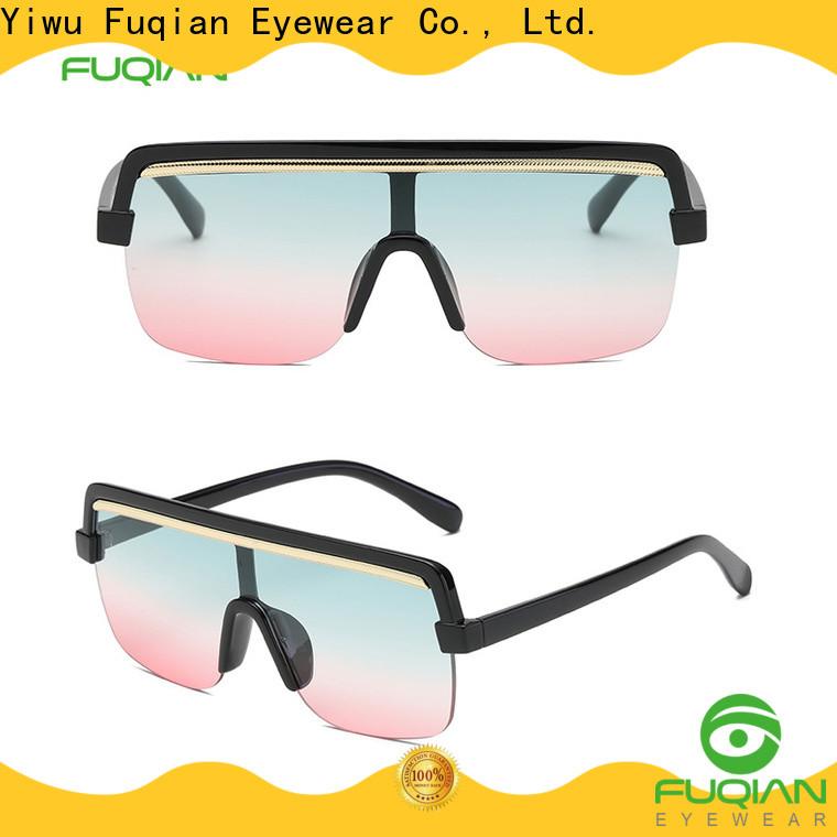 Fuqian womens metal sunglasses factory for women