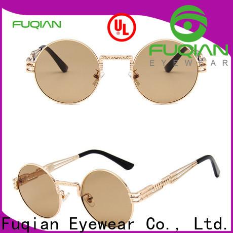 Fuqian Custom womens large aviator sunglasses manufacturers for racing