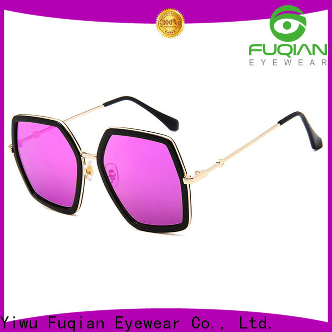 Fuqian Wholesale women's polarized mirrored sunglasses manufacturers