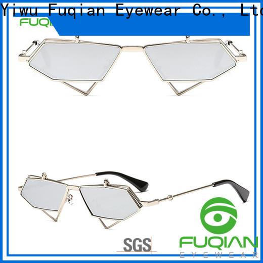 Fuqian women womens large aviator sunglasses company for sport