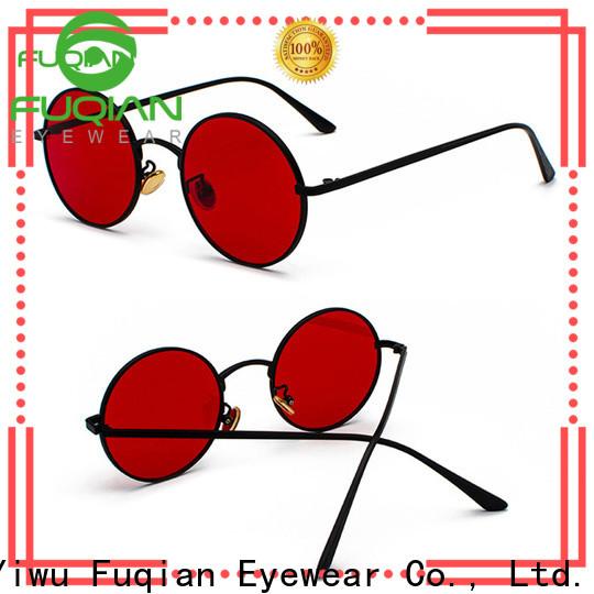 Fuqian women wholesale fashion sunglasses company for women