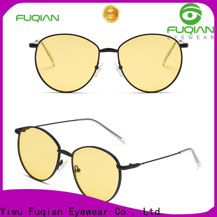 Fuqian unique womens sunglasses Suppliers for sport