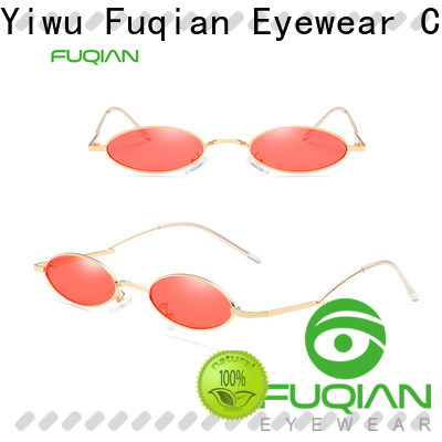 Fuqian Wholesale women's designer sunglasses brands buy now for lady
