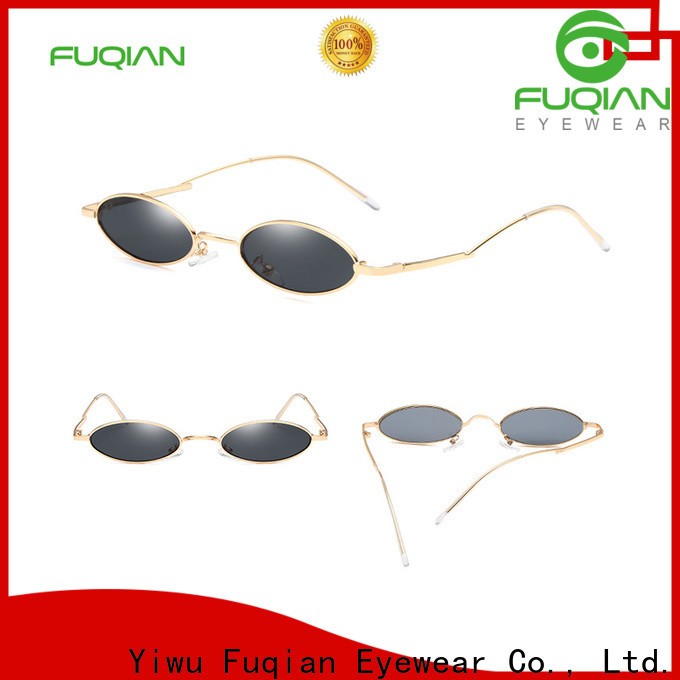Fuqian mens designer sunglasses sale manufacturers for lady