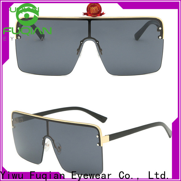 Fuqian blue lens womens sunglasses ask online for lady