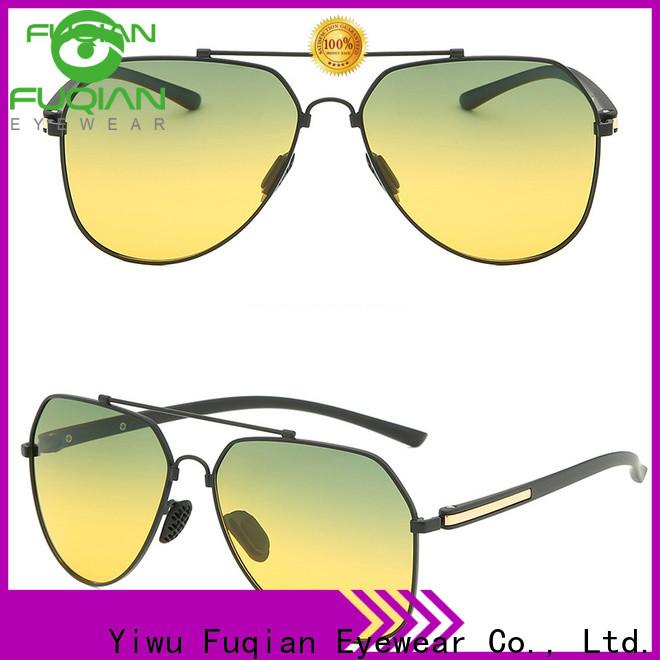 Fuqian Custom dark polarized sunglasses buy now for racing