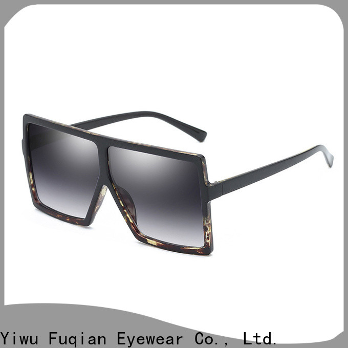 Fuqian Latest oversized aviator sunglasses for women for business for racing
