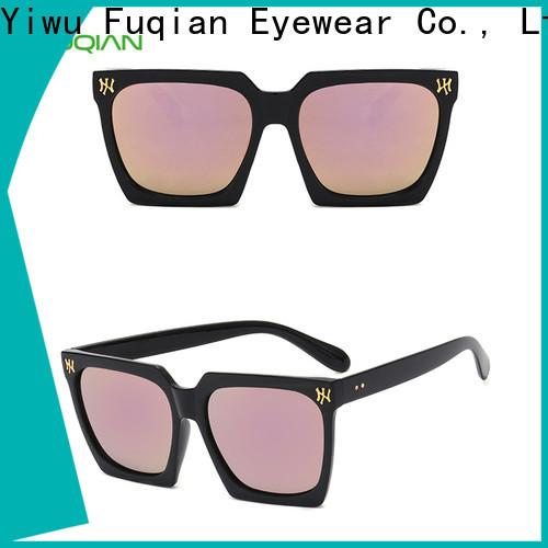 Fuqian women's designer sunglasses brands Supply for sport