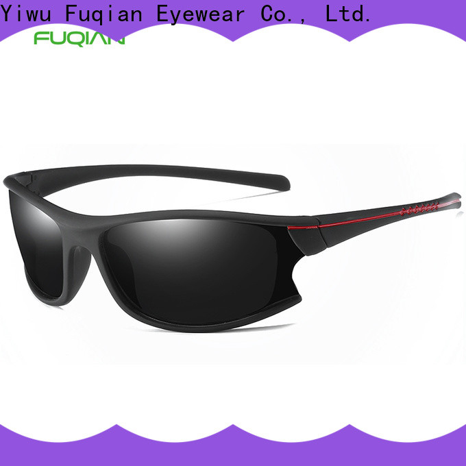 Fuqian Bulk buy high quality cheap sunglasses for sale metal frame for sport