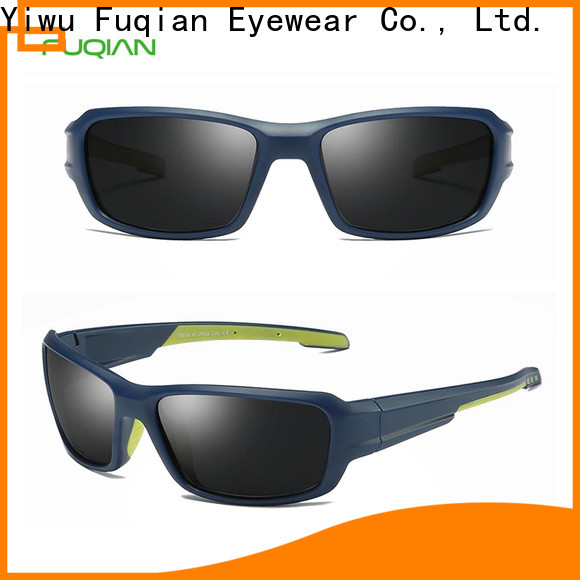 Fuqian best polarized sunglasses for the price metal frame for gentlemen