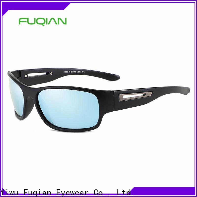 Fuqian shades polarized lenses metal frame for lady
