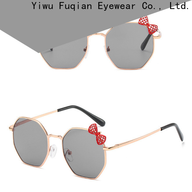 Fuqian ODM high quality children's plastic sunglasses Suppliers for girls