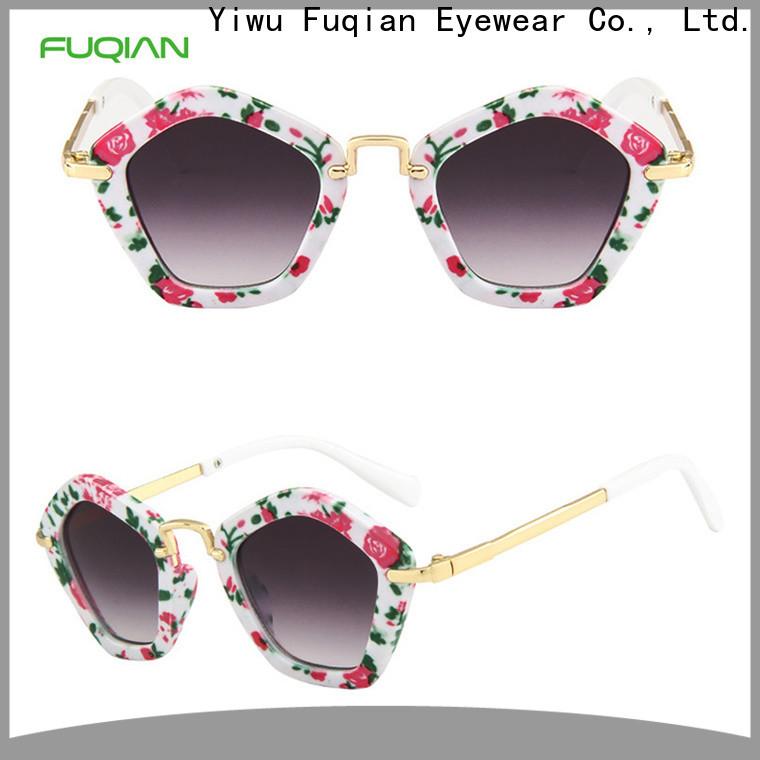 Fuqian childrens uv sunglasses Suppliers for girls