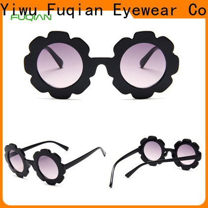 Fuqian Bulk purchase best infant baby sunglasses Suppliers for child