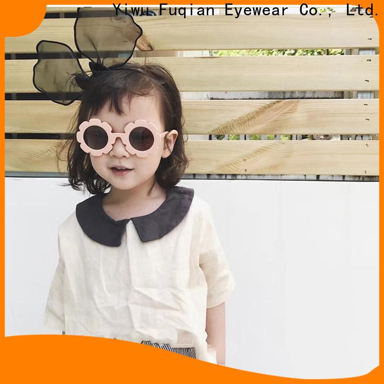 Wholesale custom infant black frame glasses Supply for girls