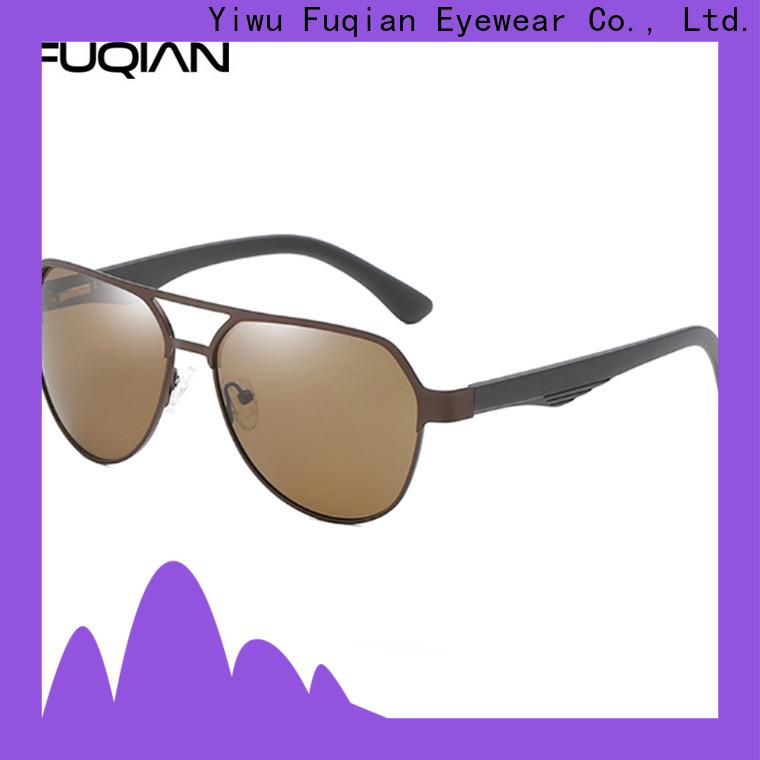 Fuqian OEM best mens white sunglasses designer customized for running