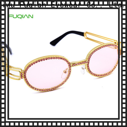 Fuqian silver sunglasses for women Supply for racing