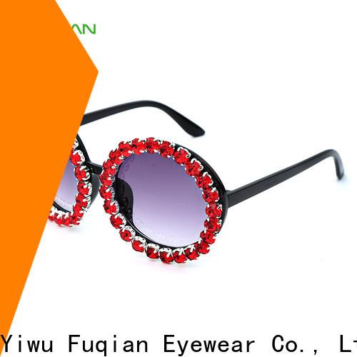 Fuqian Custom women's brand name sunglasses manufacturers