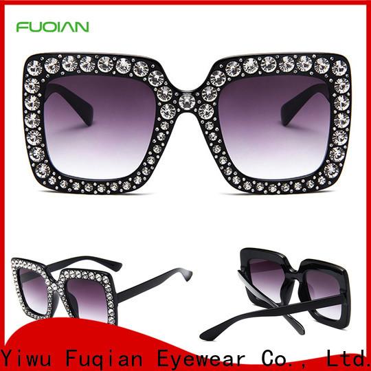 Fuqian glass lens polarized sunglasses factory for racing