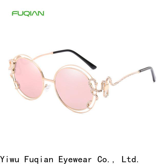 Fuqian Custom high quality expensive womens sunglasses manufacturers