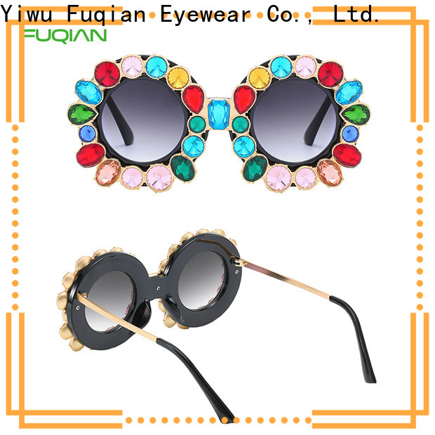 Fuqian large frame womens sunglasses Suppliers for sport