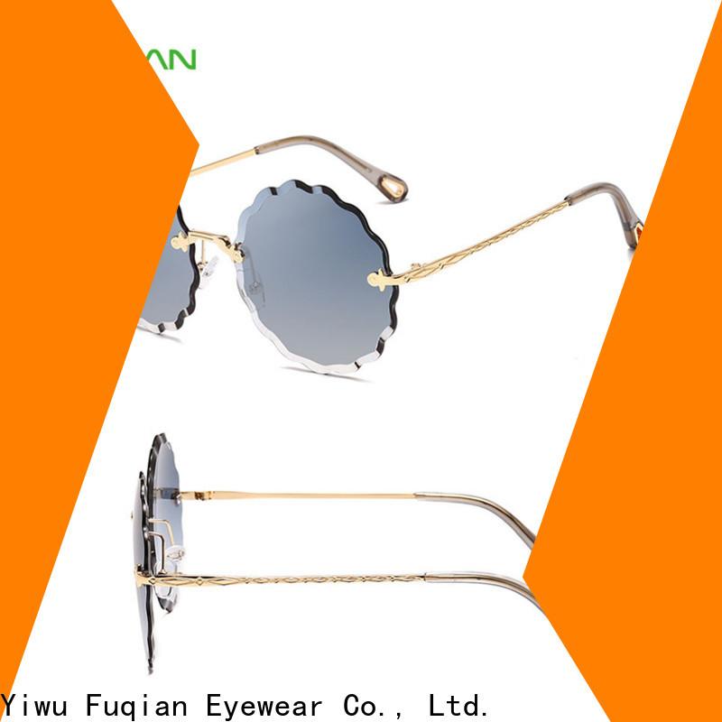 Fuqian Wholesale ODM oversized aviator sunglasses for women ask online