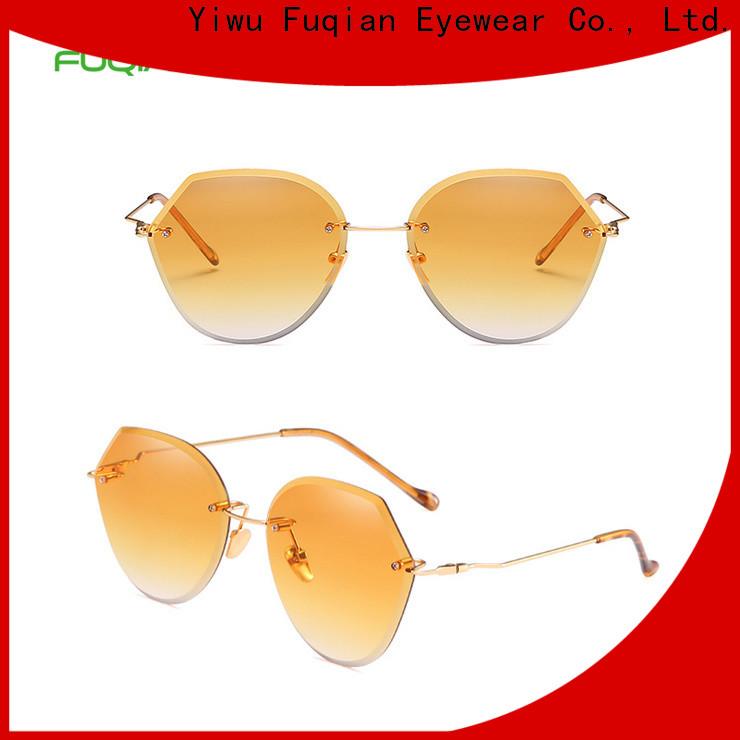 Fuqian Bulk purchase OEM stylish sunglasses for ladies customized for racing