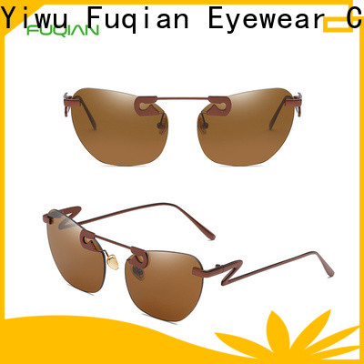 Fuqian designer sunglasses for women factory for racing