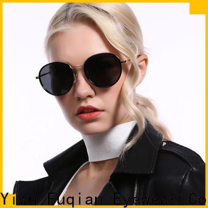 Fuqian wholesale fashion sunglasses customized for racing