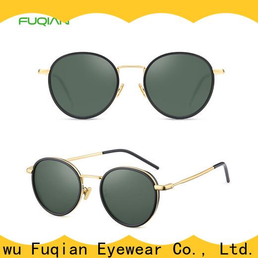 Fuqian women's square sunglasses for business for women
