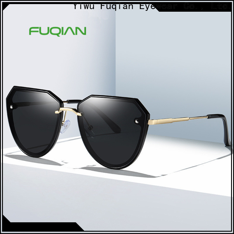 OEM high quality gold sunglasses for women Supply for racing