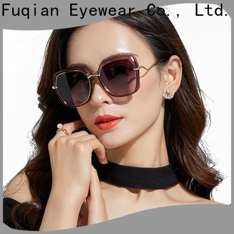 Fuqian Bulk buy ODM womens black polarized sunglasses manufacturers for racing