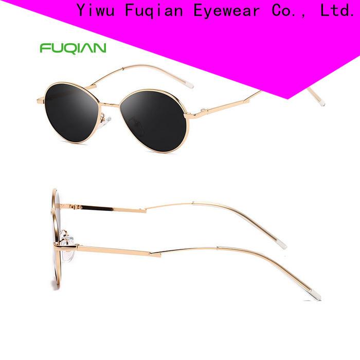 Fuqian Bulk purchase high quality designer sunglasses uk customized for women