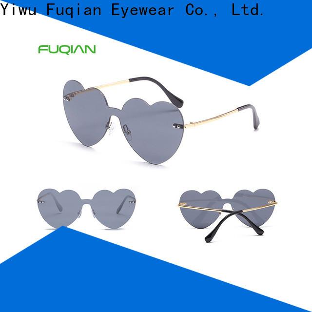 Fuqian Bulk purchase custom oversized designer sunglasses Supply for lady