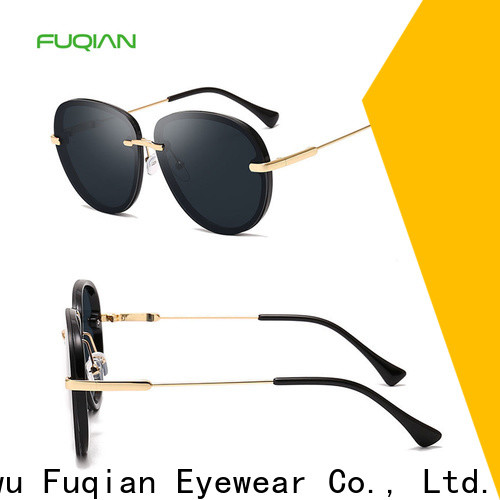 Custom ODM womens aviator style sunglasses manufacturers for lady