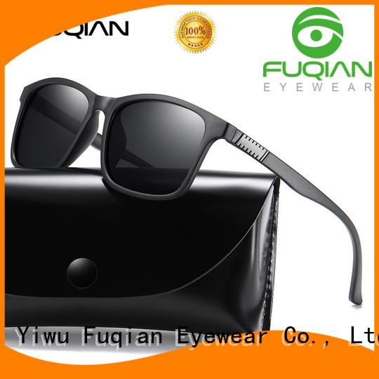 Fuqian mens designer aviator sunglasses company for sport