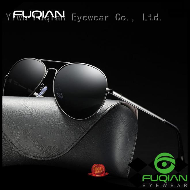 Fuqian professional polarized sunglasses supplier for sport
