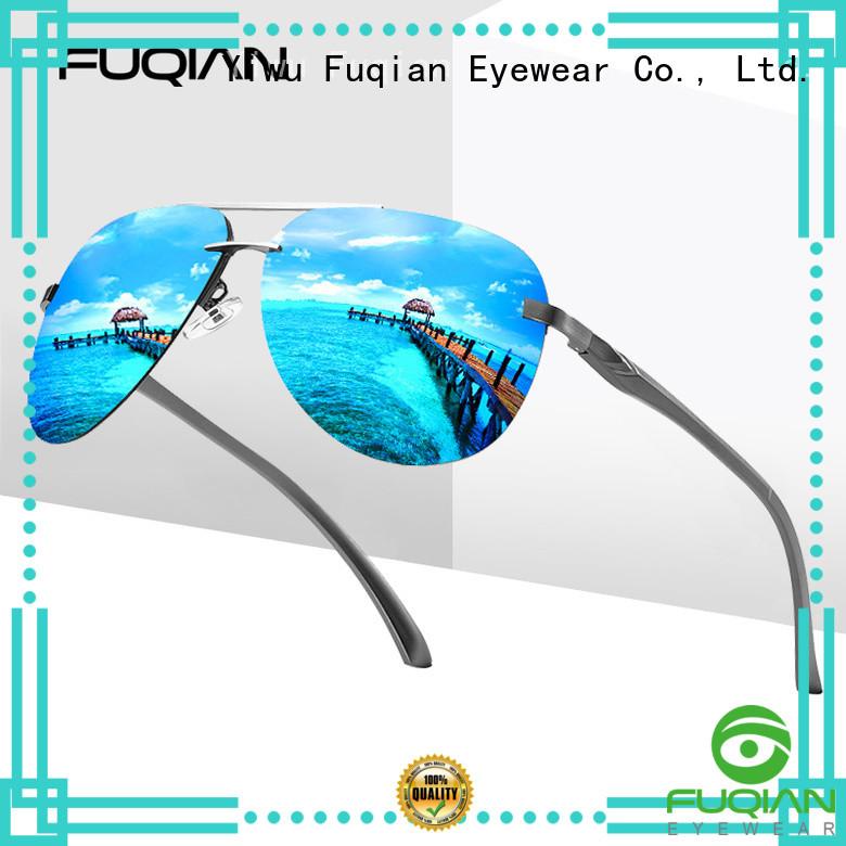 Fuqian male men sunglasses customized for men