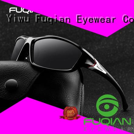 Fuqian polarized sunglasses China factory for men