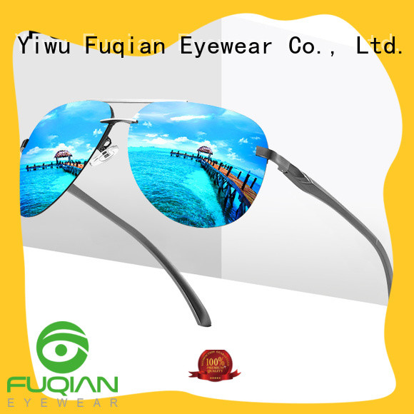 Fuqian professional polarized sunglasses supplier for men