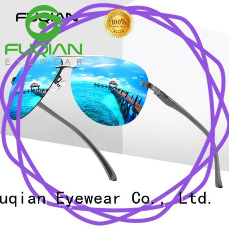 Fuqian professional polarized sunglasses China factory for sport