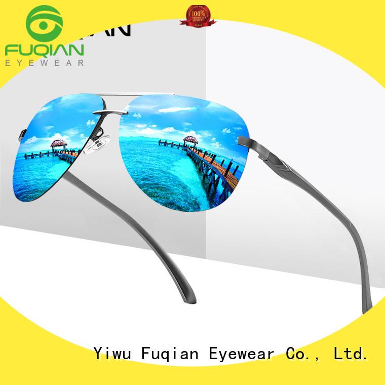 Fuqian polarized sunglasses China factory for sport