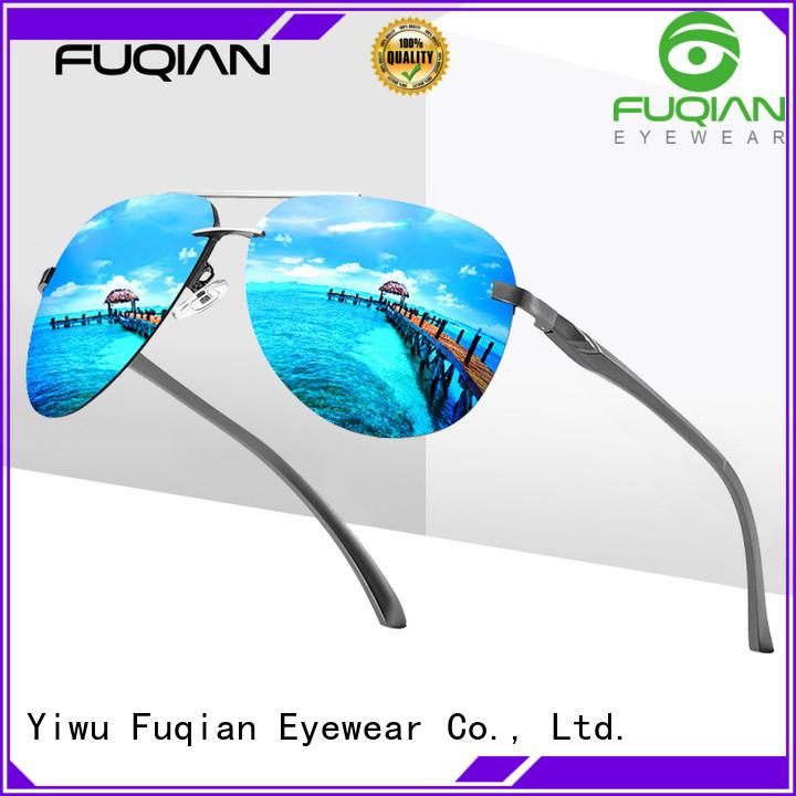 Fuqian shield sunglasses factory for men