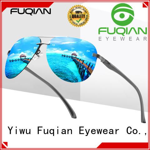 Fuqian polarized sunglasses supplier for sport