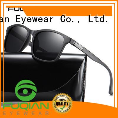 Fuqian custom polarized sunglasses manufacturer for men