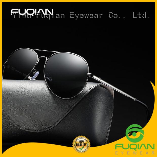 Fuqian men classic sunglasses Suppliers for driving