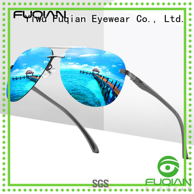 Fuqian polarized polarized sunglasses China factory for sport