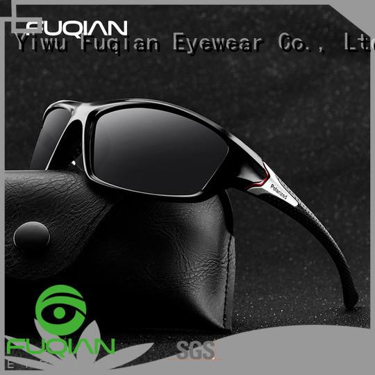 Fuqian polarised white sunglasses Supply for lady